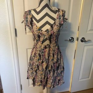 New free People mini dress small